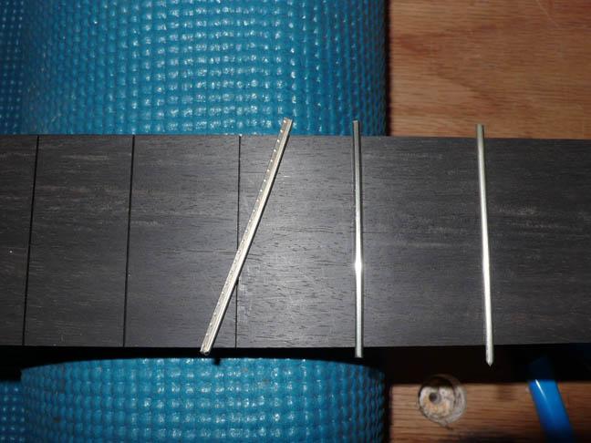 12.2 Installing fretwire
